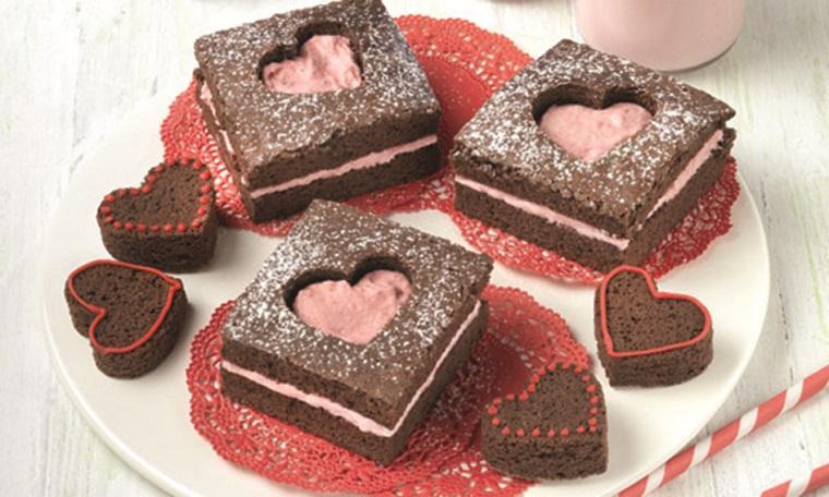 Receta postre San Valentín