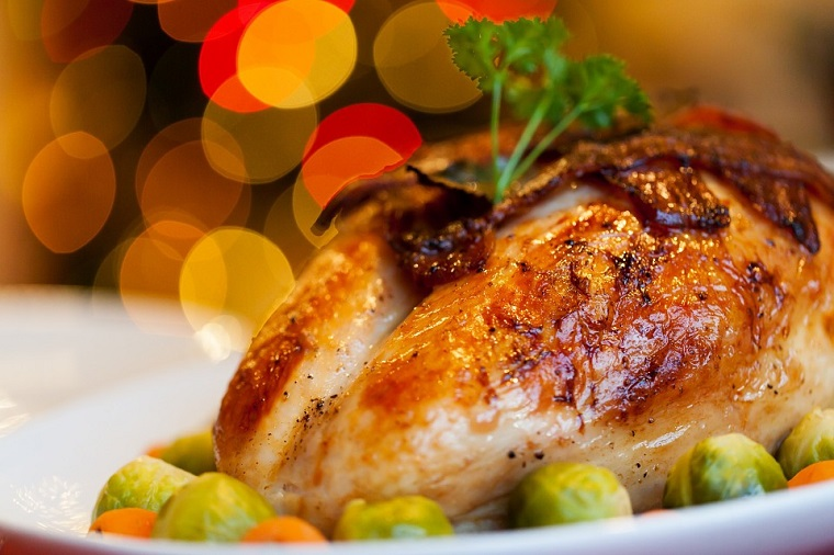 Receta sencilla para Navidad: Pollo al horno con limón