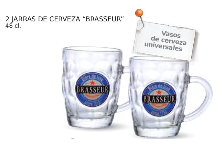Vasos universales cerveza