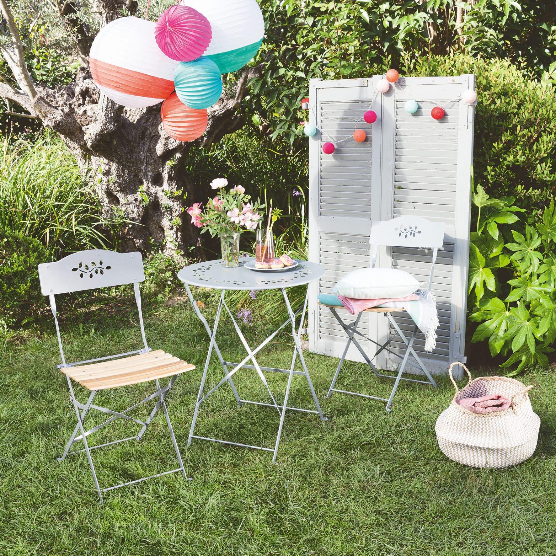 Ideas con cestas para el jardin