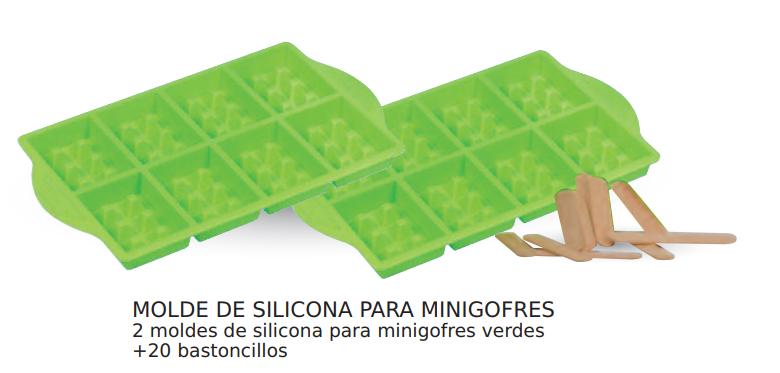Como utilizar molde silicona para gofres