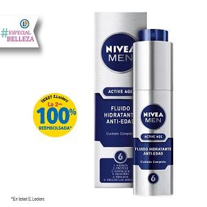 crema facial hidratante masculina antiedad nivea