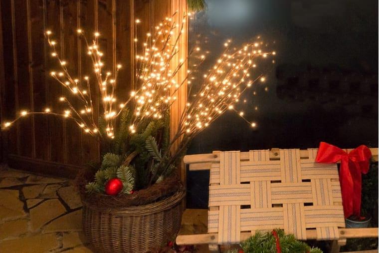 Trucos DIY decorar con ramas
