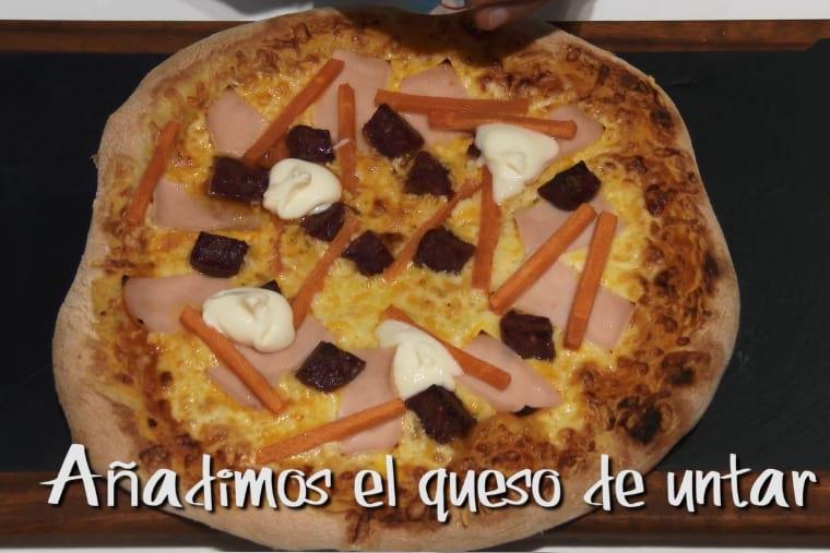 Como hacer pizza con queso de cabra para niños