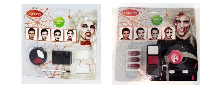 Maquillaje zombi halloween