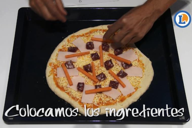 Como hacer pizza con queso de cabra facil