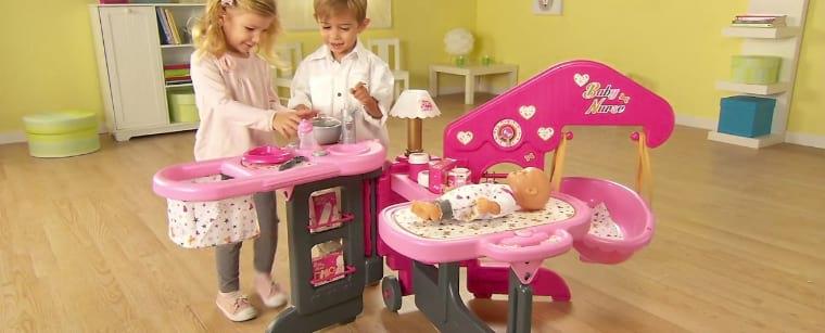 la casa de los bebes smoby barato
