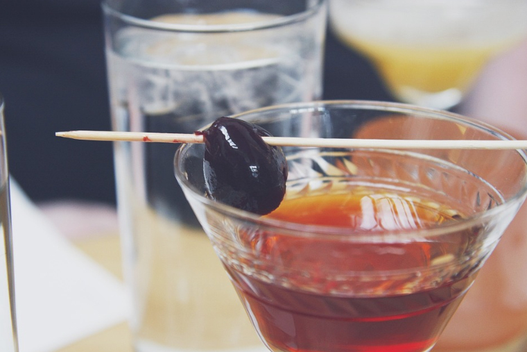 Receta coctel manhattan facil