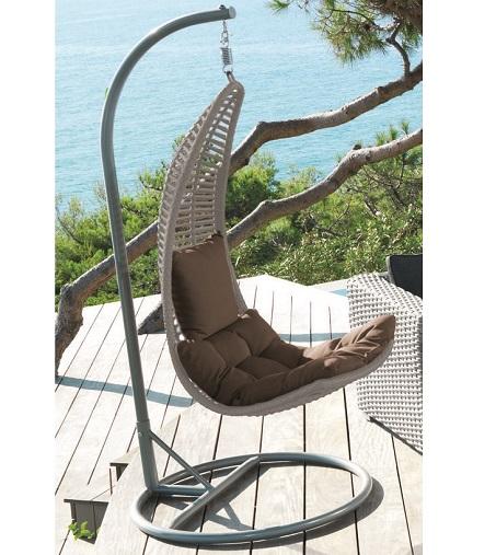 8 muebles de tendencia para jardin terraza o exterior - Sillon columpio terraza ...